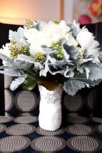 wedding flowers, winter wedding flower bouquet