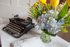 old style typewriter