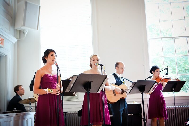 Bridesmaids Singing