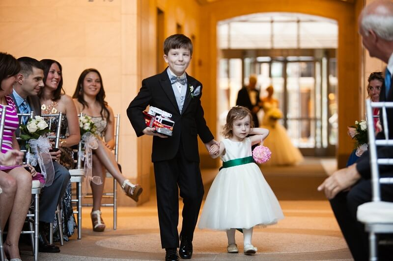 Firetruck and Ring Bearer